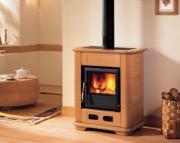 Облицована печка на дърва - 10 kW