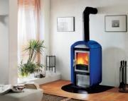 Облицована печка на дърва - 8 kW