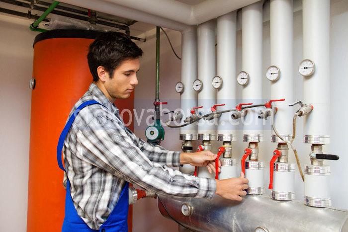 gaz sisteminin kurulumu