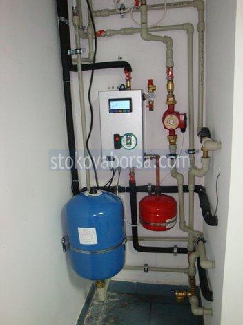 instalación de gas en proyectos individuales