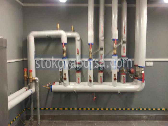 Bir gaz tesisi inşa