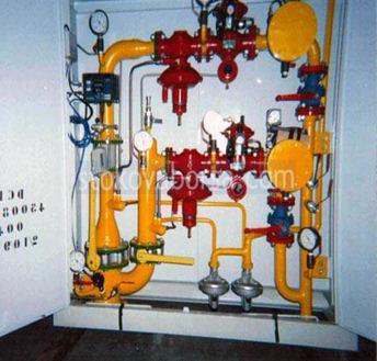 gaz tesisi - inşaat ve bakım